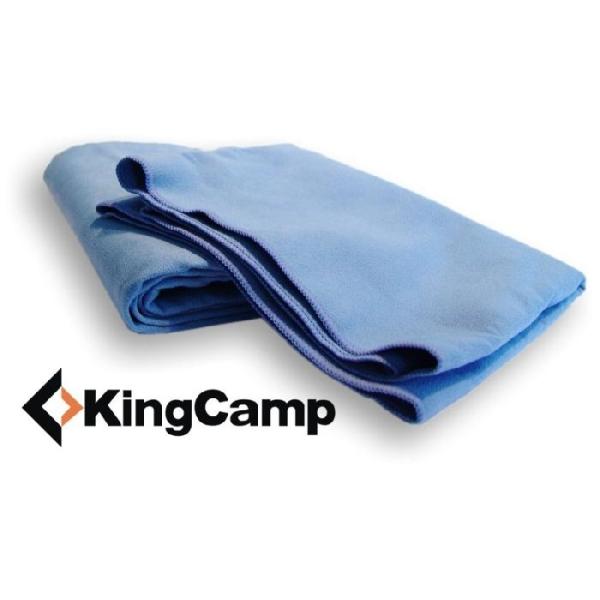 Multifunkčný uterák KING CAMP 30 x 60 cm červený