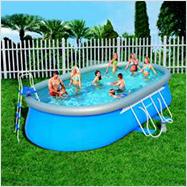 Nadzemný Bazén Vhodný Sezónny Bazén Pre Deti