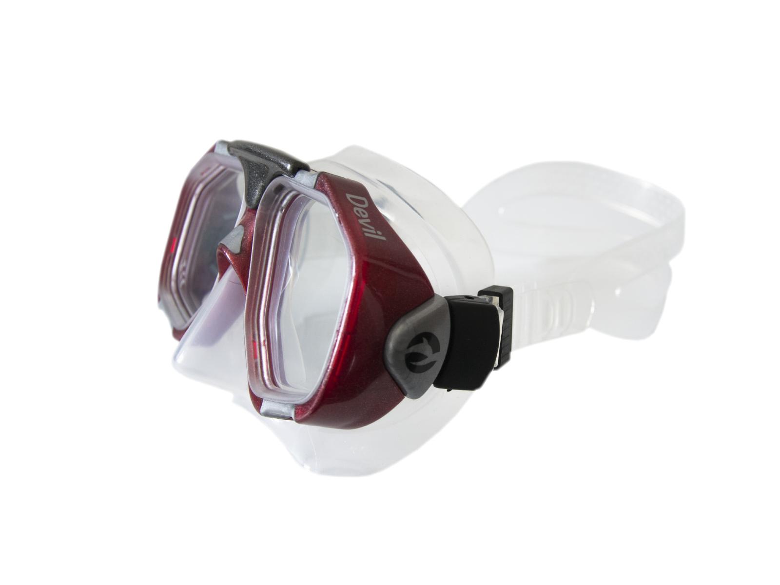 Potápačské okuliare FRANCIS Tigullio Devil senior