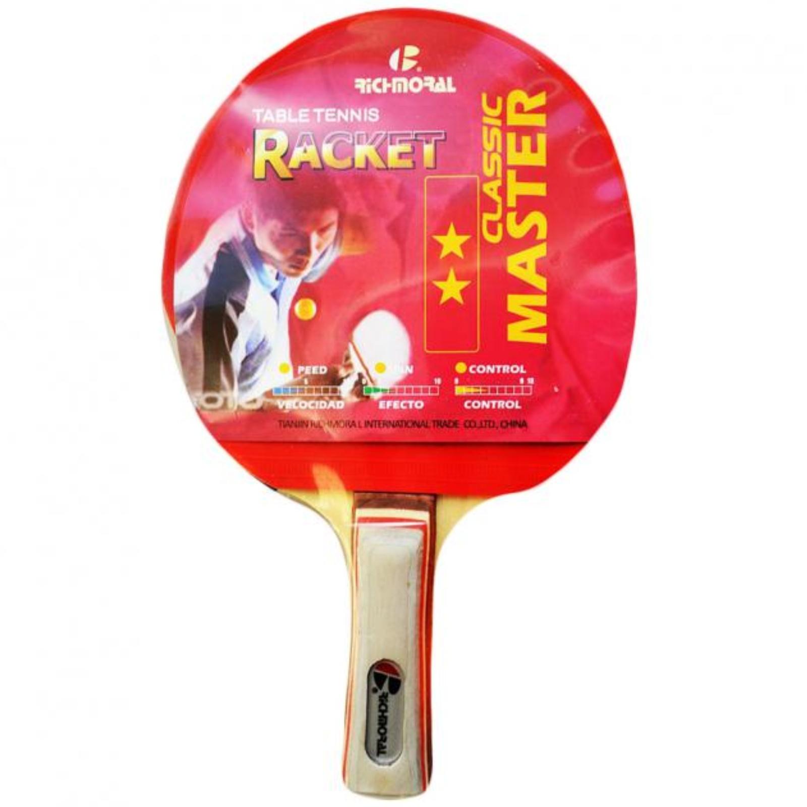 Raketa na stolný tenis RICHMORAL Master ** DB105