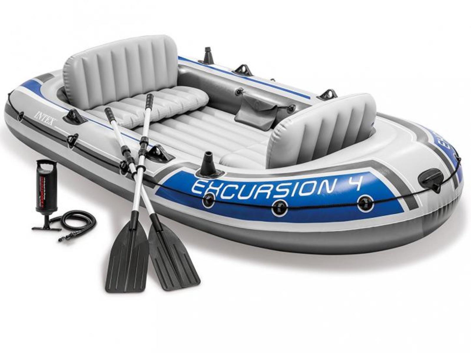 Nafukovací čln INTEX Excursion 4 Set