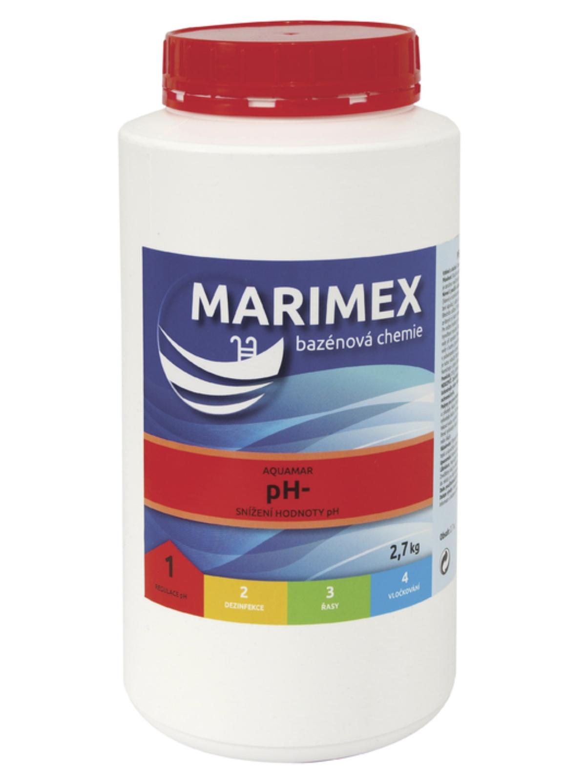 MARIMEX 11300107 Aquamar pH- 2,7 kg