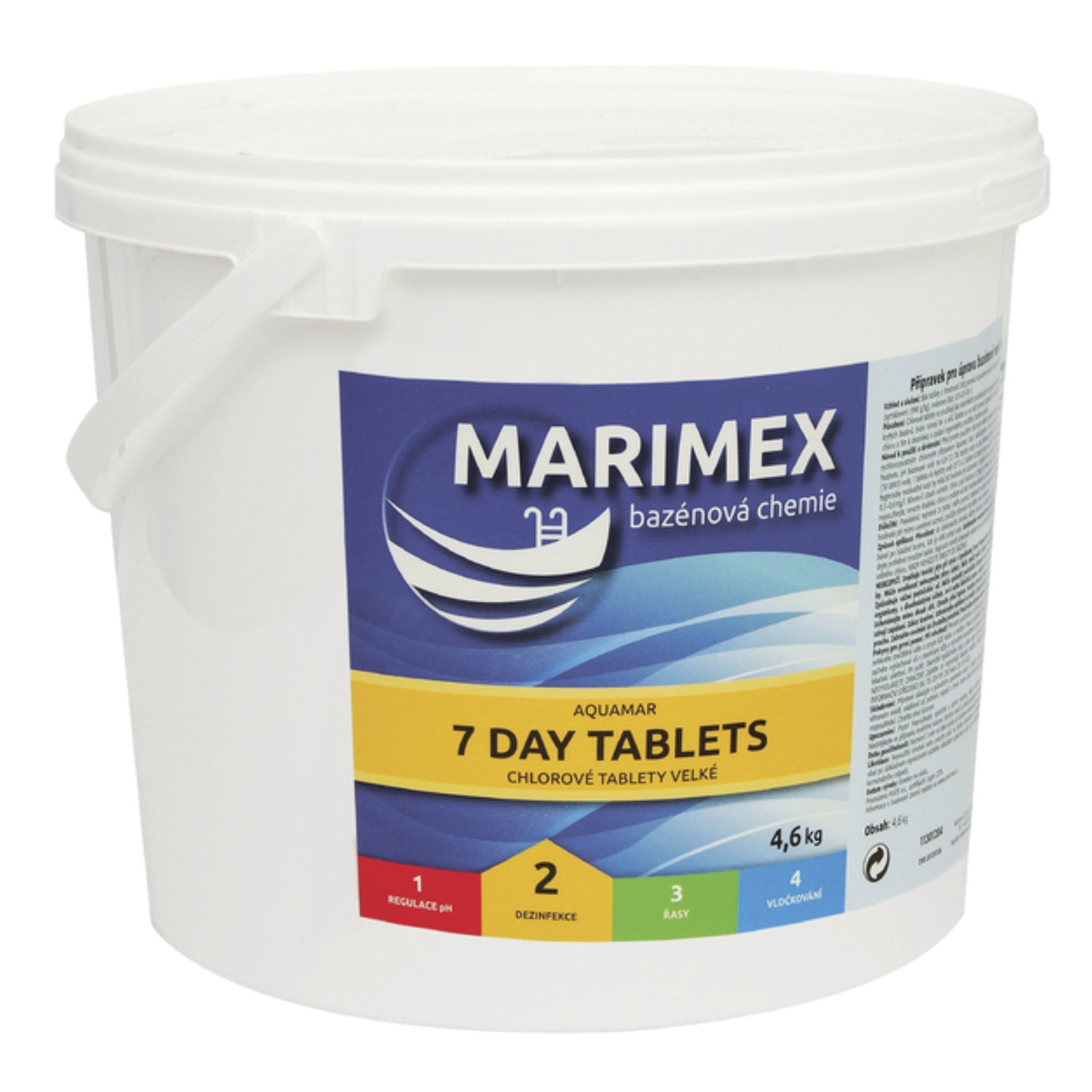 Marimex AQuaMar 7 Day Tablets 4,6 kg