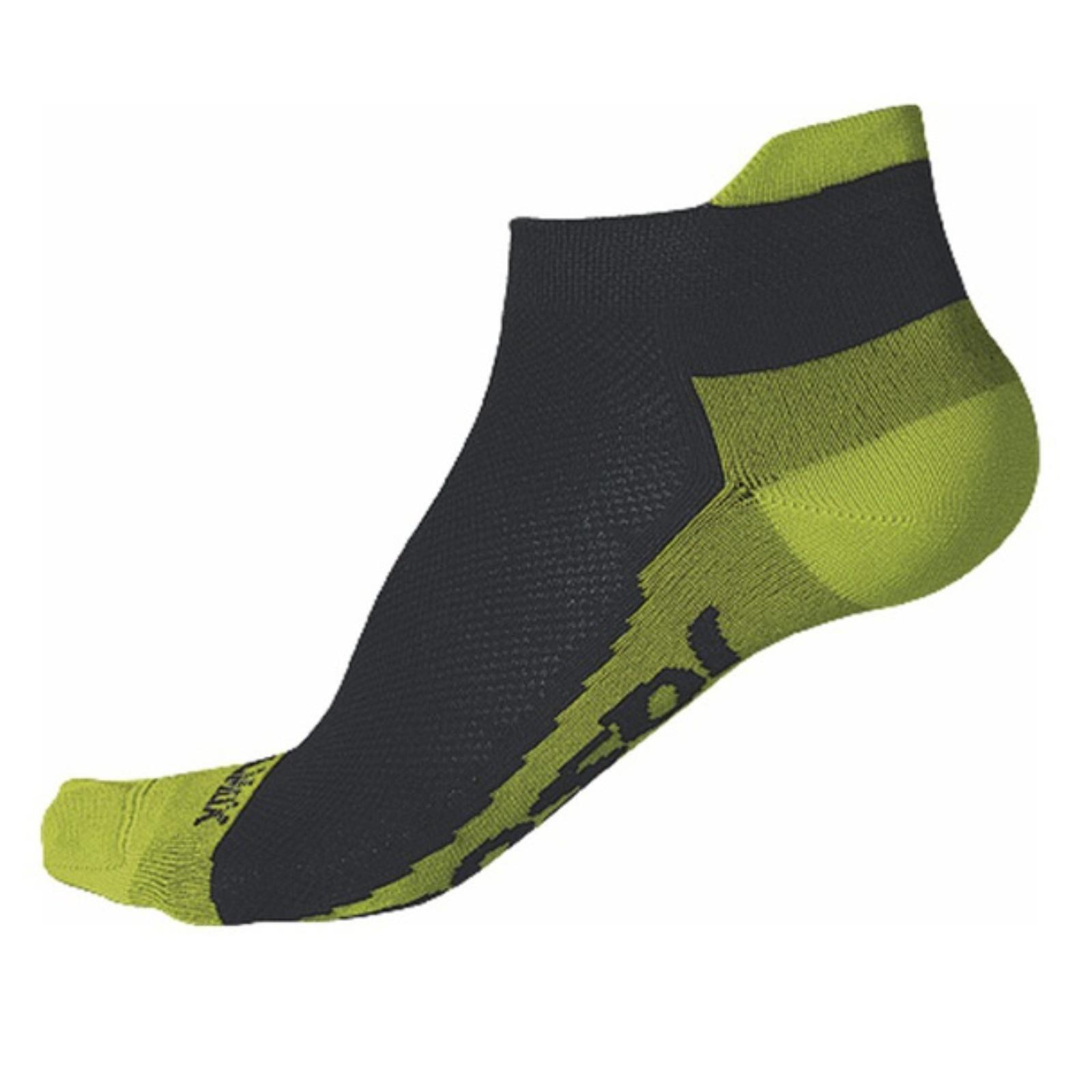 Ponožky SENSOR Coolmax Invisible limetka - veľ. 3-5