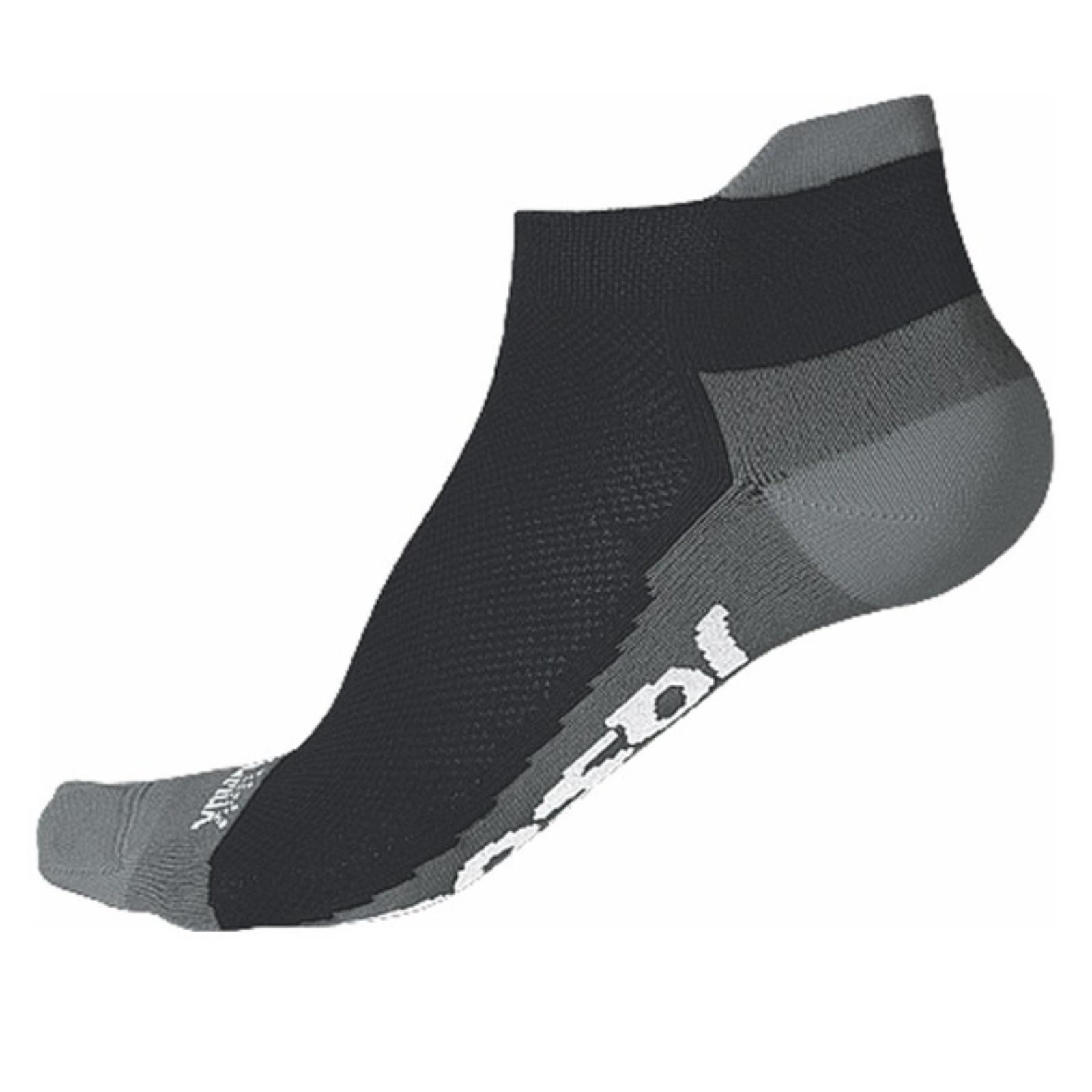 Ponožky SENSOR Coolmax Invisible šedé - veľ. 3-5