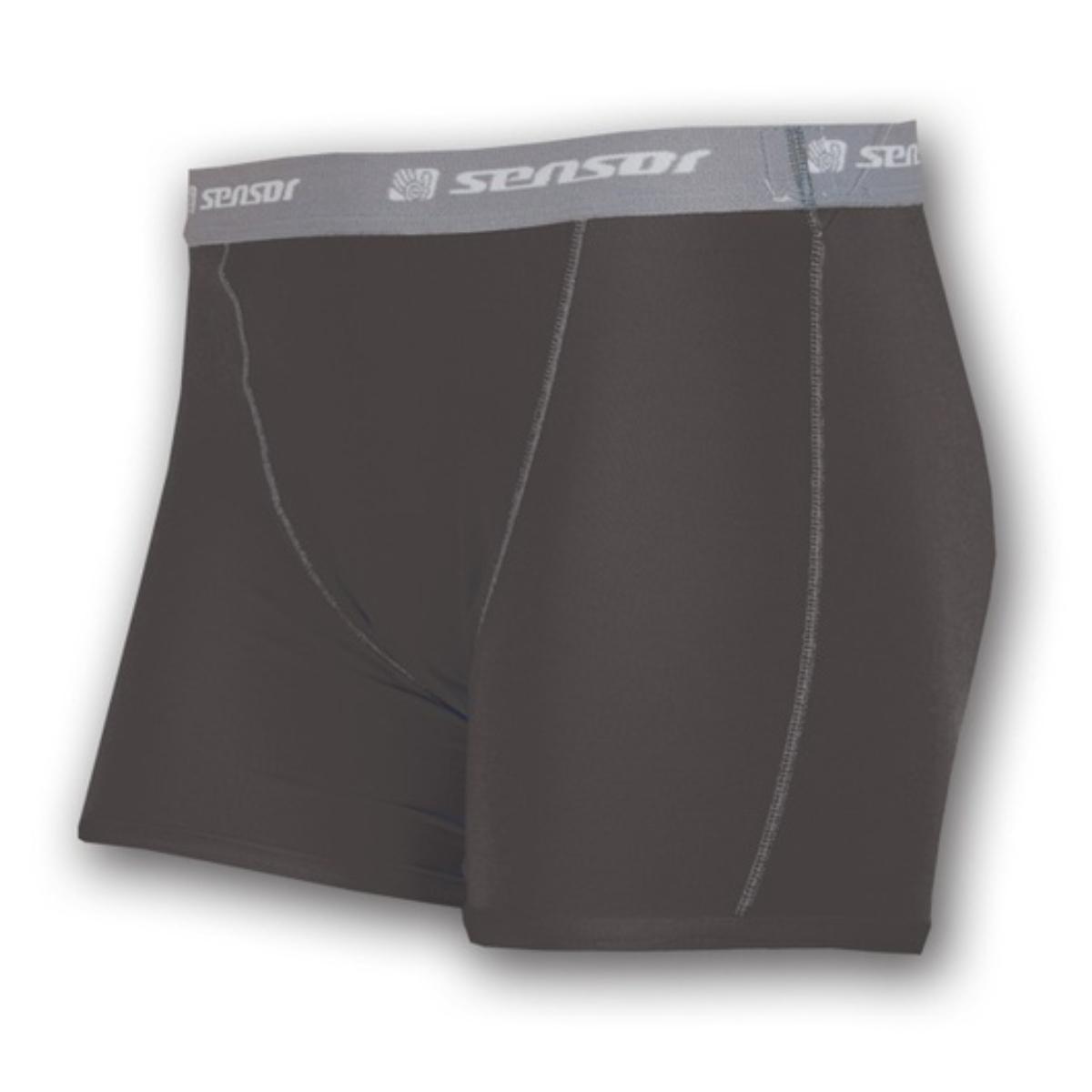 Nohavičky SENSOR Coolmax Fresh čierne - veľ. L
