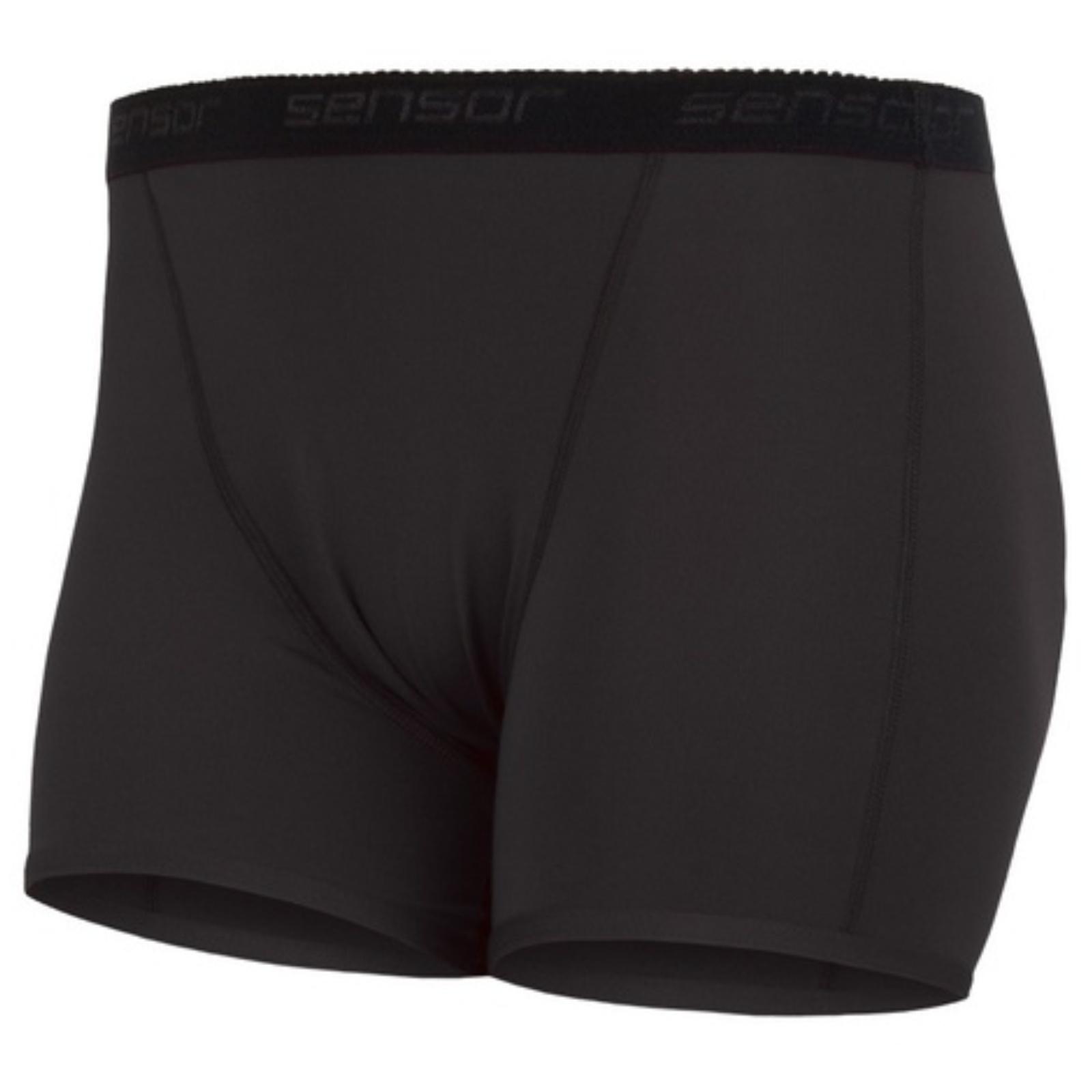 Nohavičky SENSOR Coolmax Fresh čierne - veľ. XL