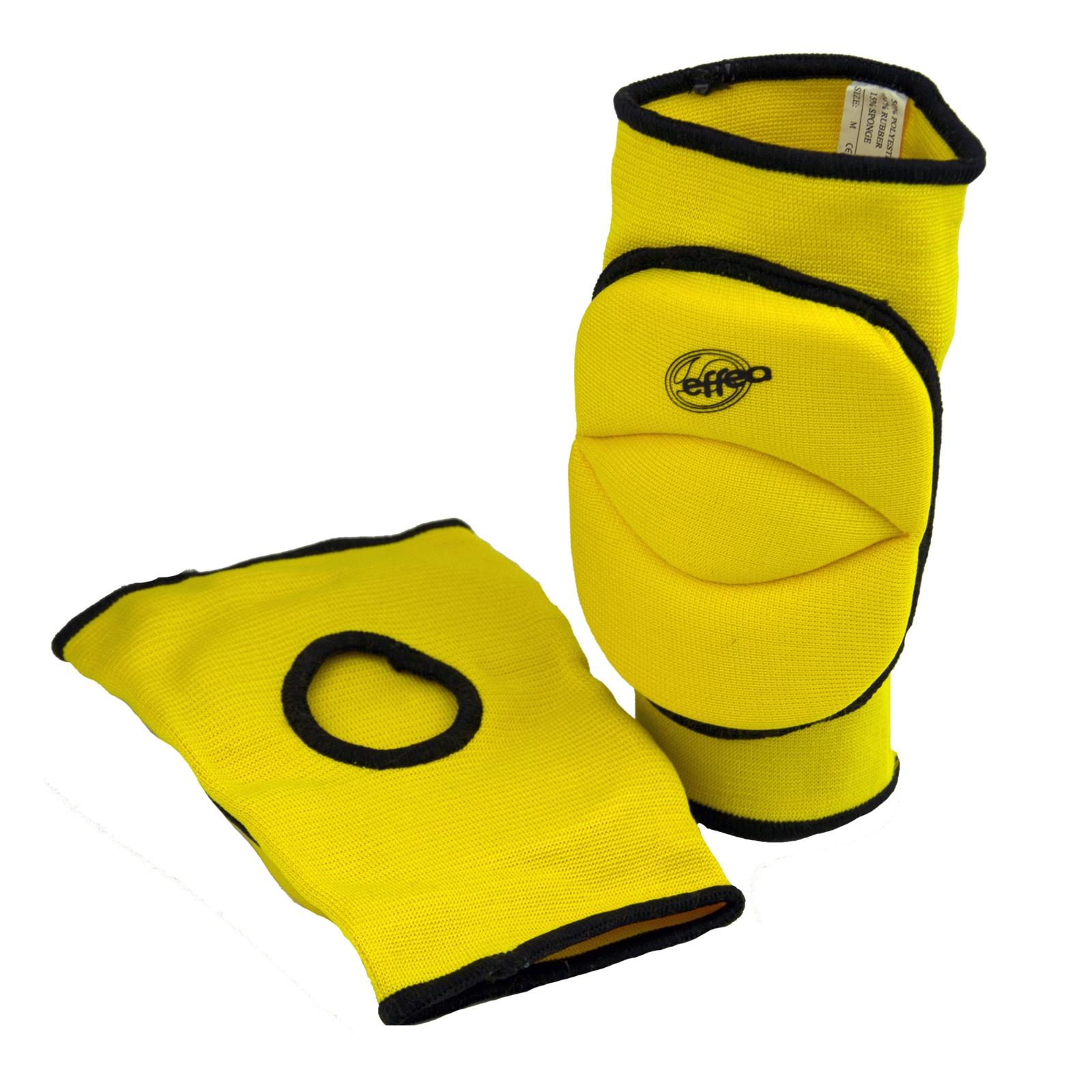 Volejbalové chrániče kolien EFFEA 6644 KD žlté
