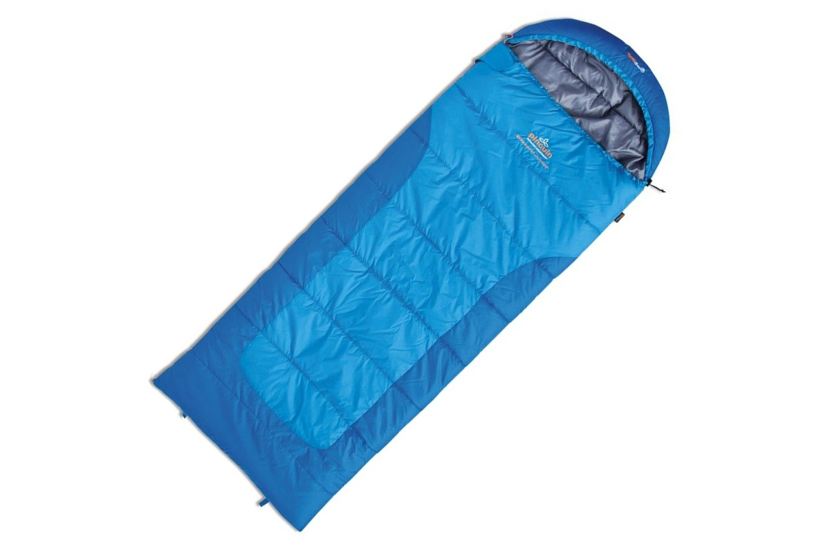 Spací vak PINGUIN Blizzard junior modrý - ľavý zips