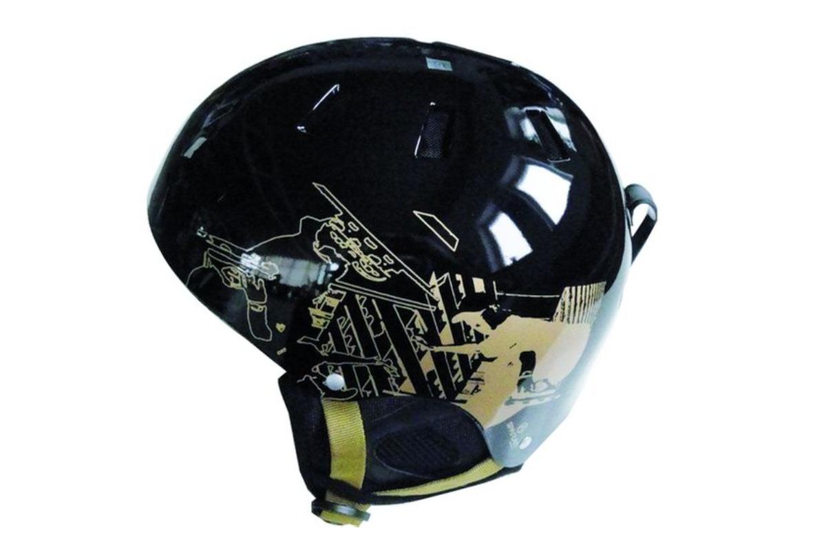 Lyžiarska prilba SPARTAN Snow helm S - čierna