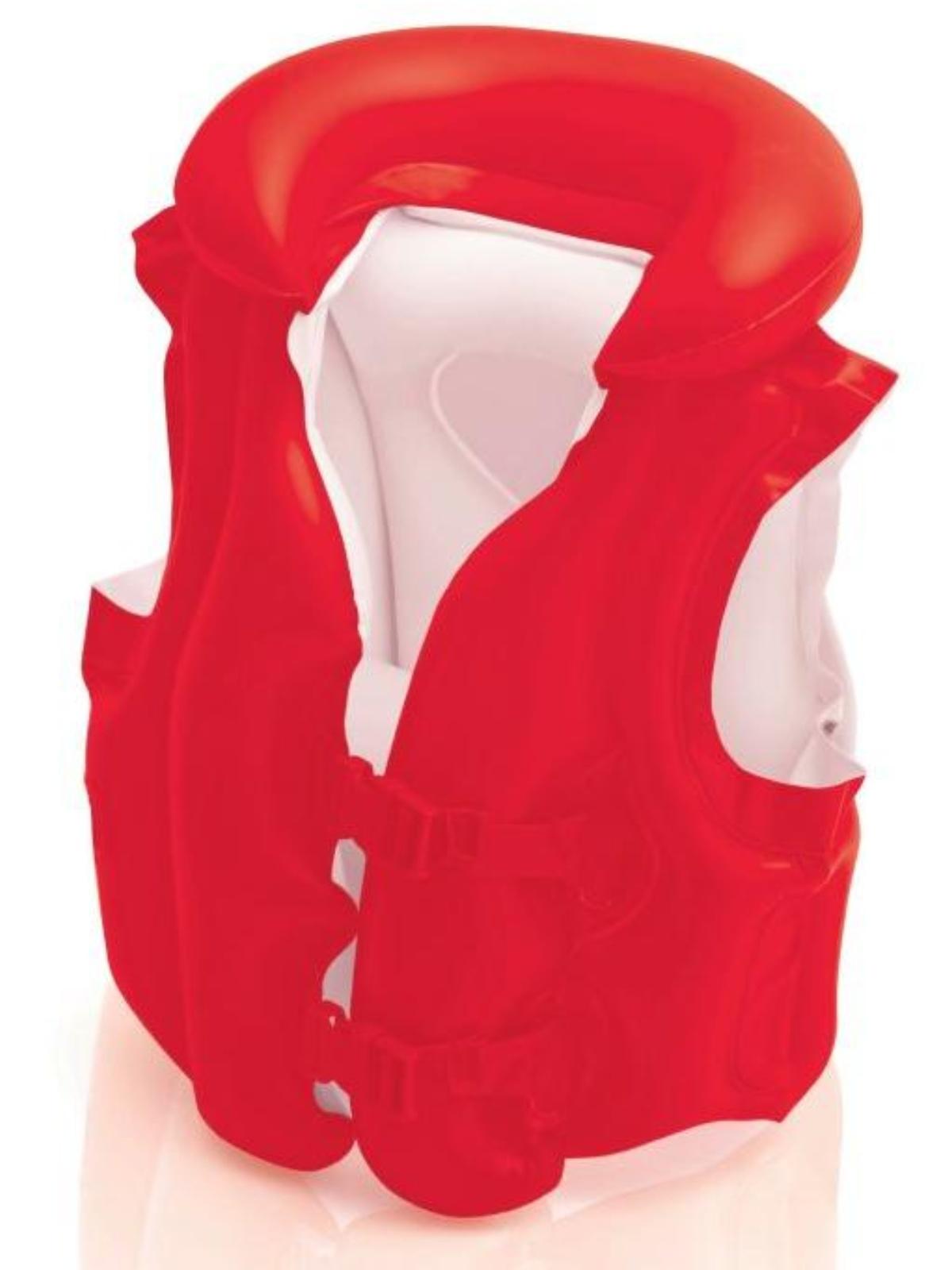 Nafukovacie plavecká vesta INTEX Deluxe