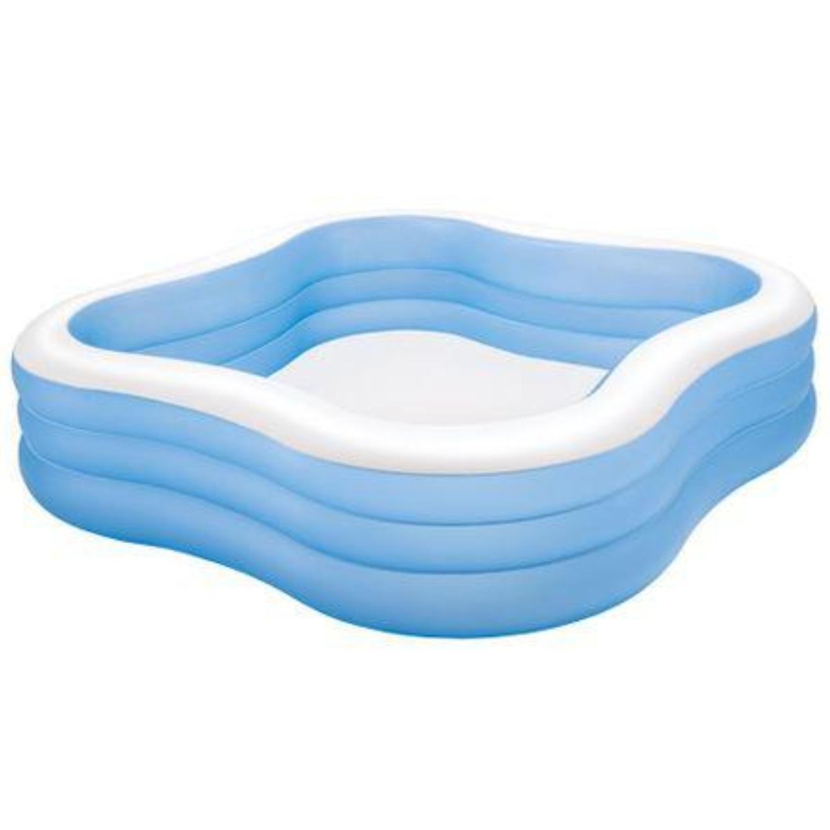 Nafukovací bazén INTEX štvorec 229 x 229 cm