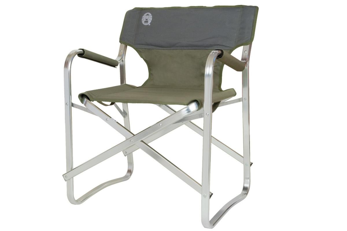 Kempingová stolička COLEMAN Deck Chair zelená