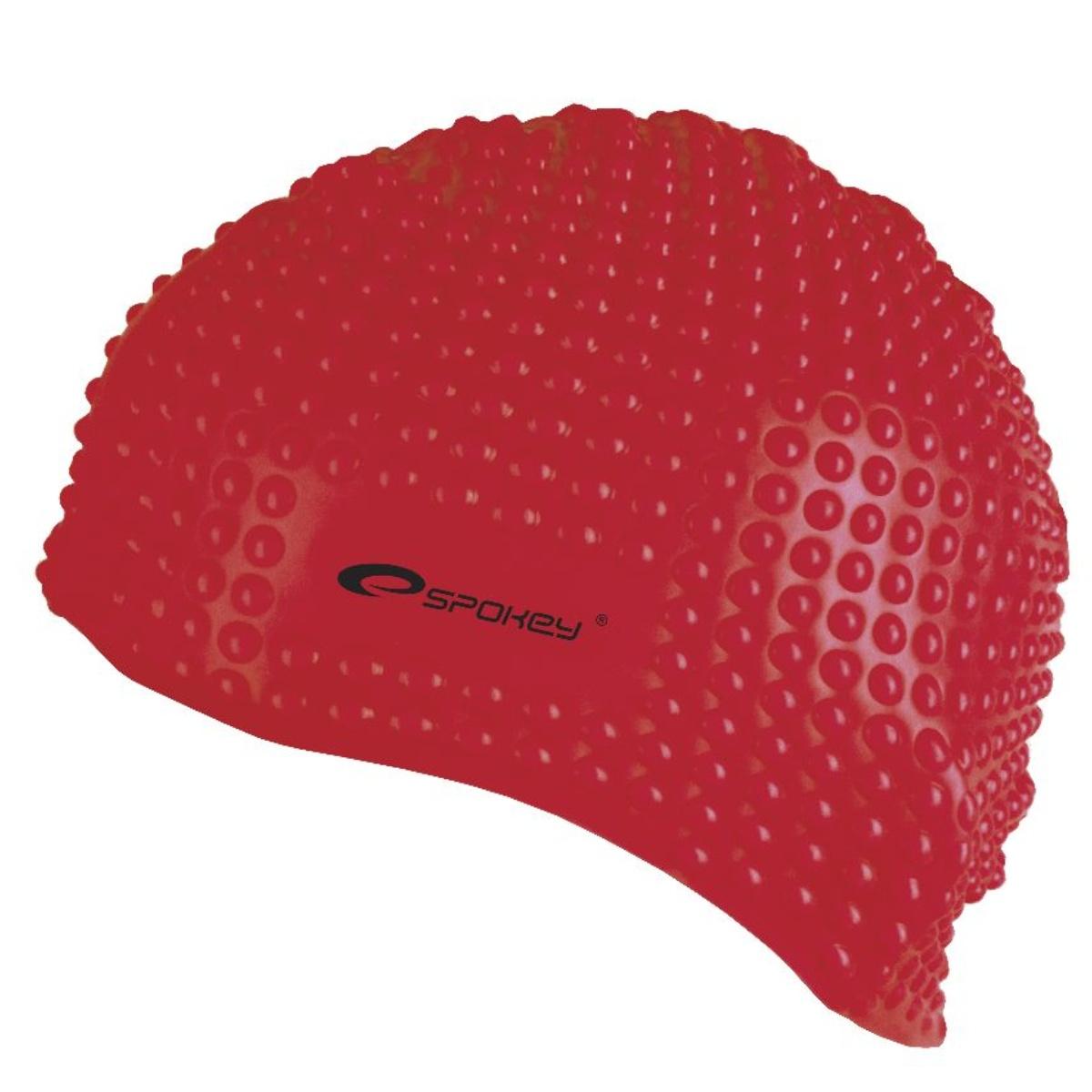 Plavecká čiapka SPOKEY Belbin - červená