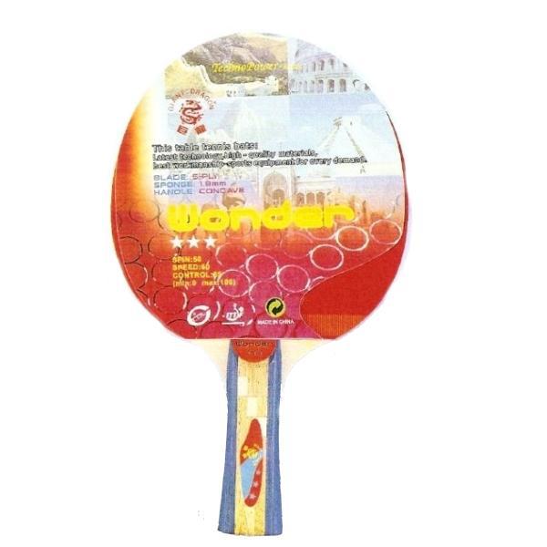 Raketa na stolný tenis TECHNO Wonder 3*