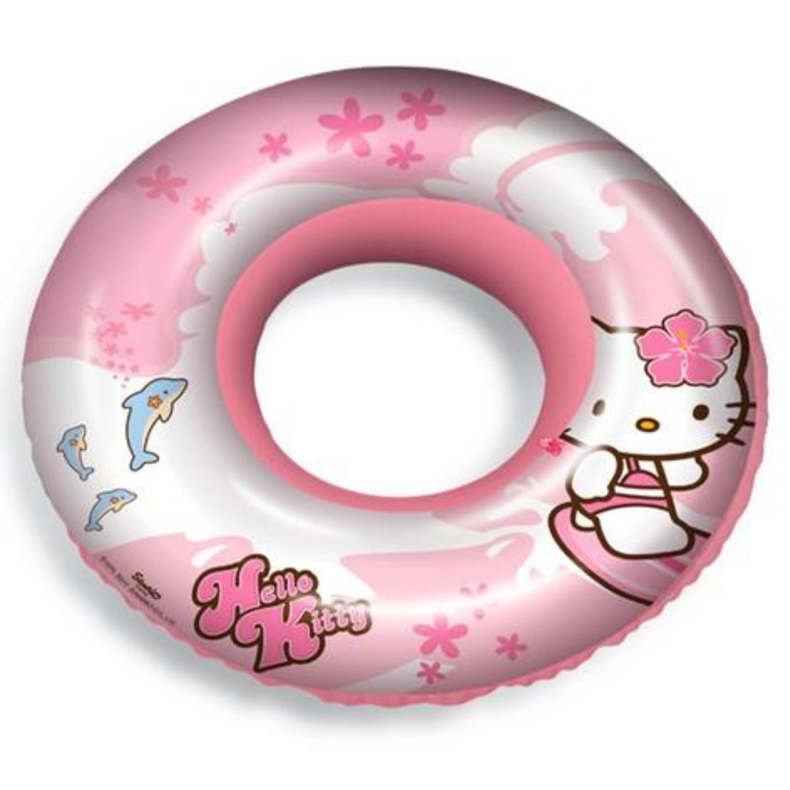Nafukovací kruh s potlačou HELLO KITTY 50 cm