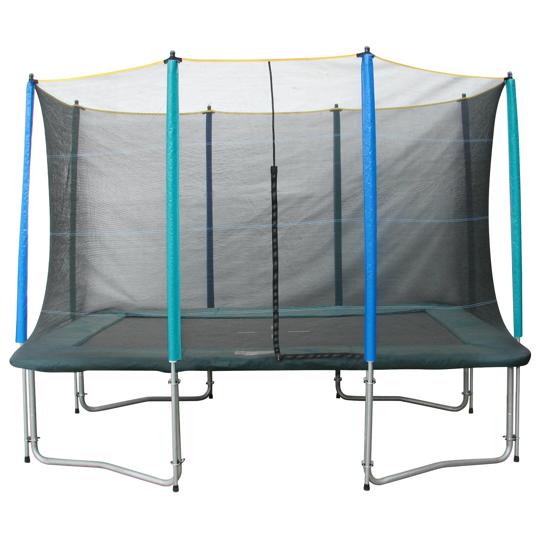 SET trampolína MASTERJUMP 300 x 210 cm + ochranná sieť + schodíky