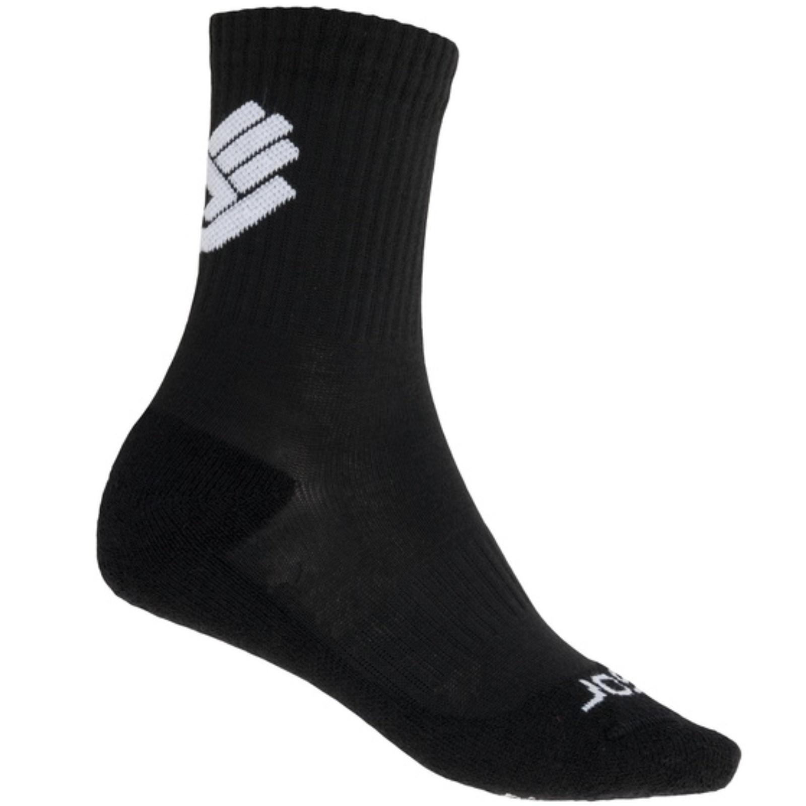Ponožky SENSOR Race Merino čierne - veľ. 3-5
