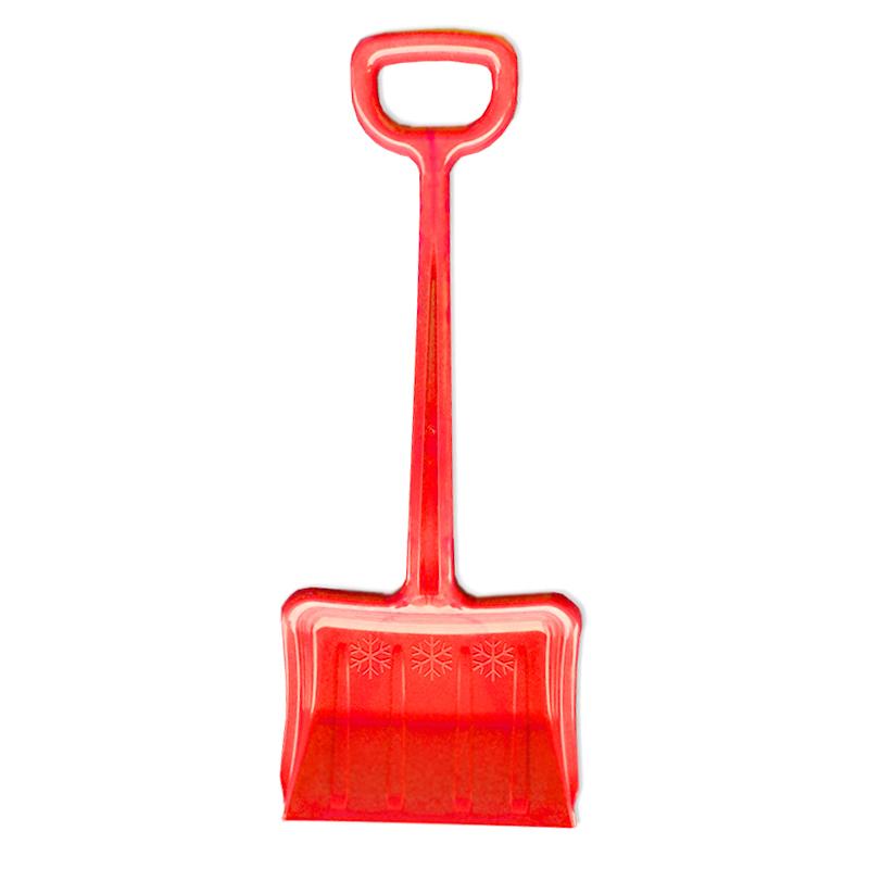 Lopata na sneh detská - 70 cm - červená