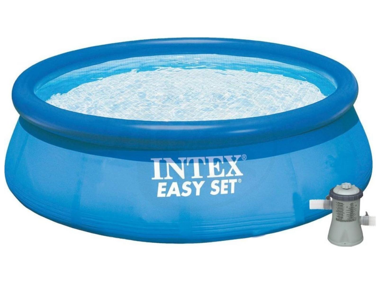 Bazén INTEX Easy 366 x 76 cm set s kartušovou filtráciou