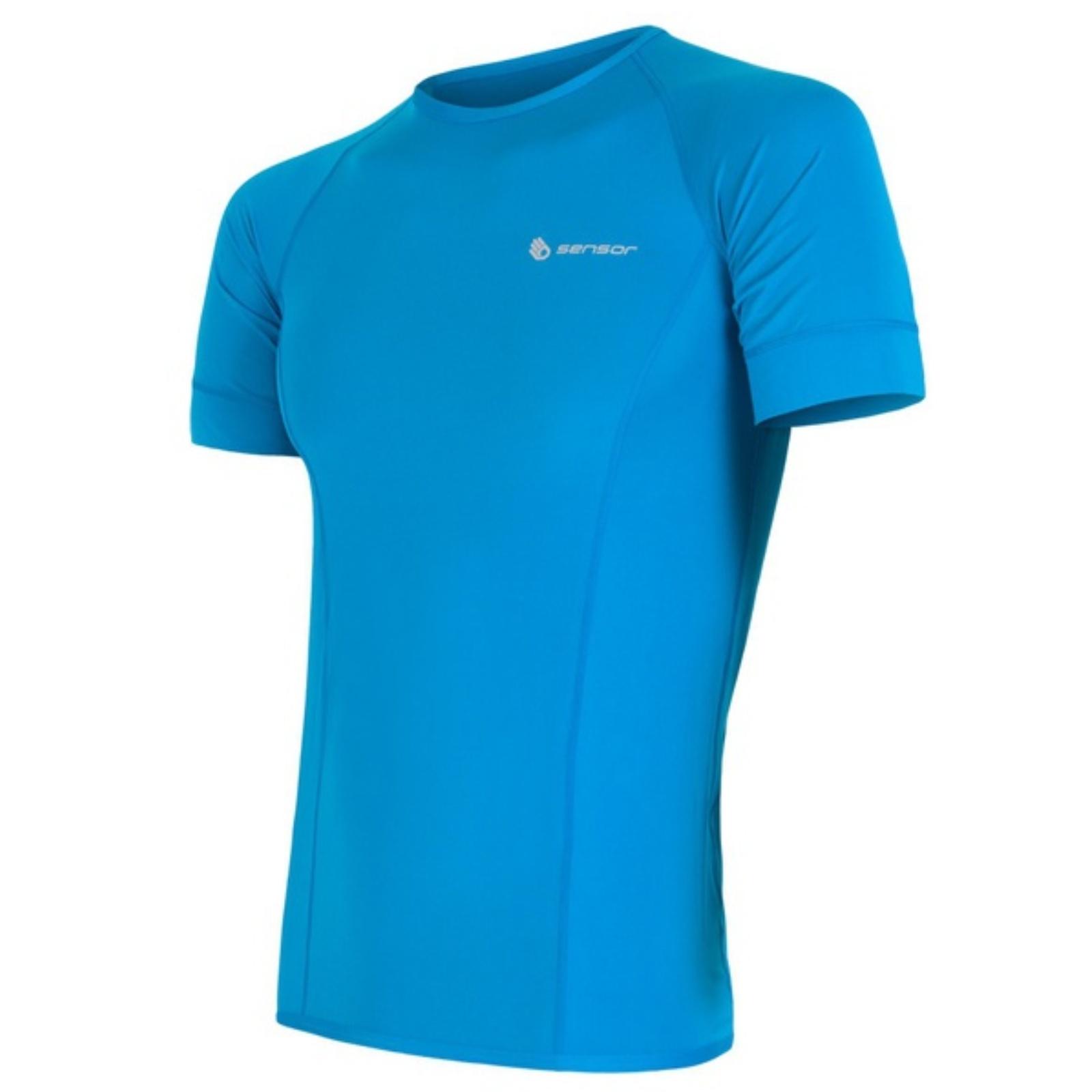 Tričko krátky rukáv SENSOR Coolmax Fresh pánske modré