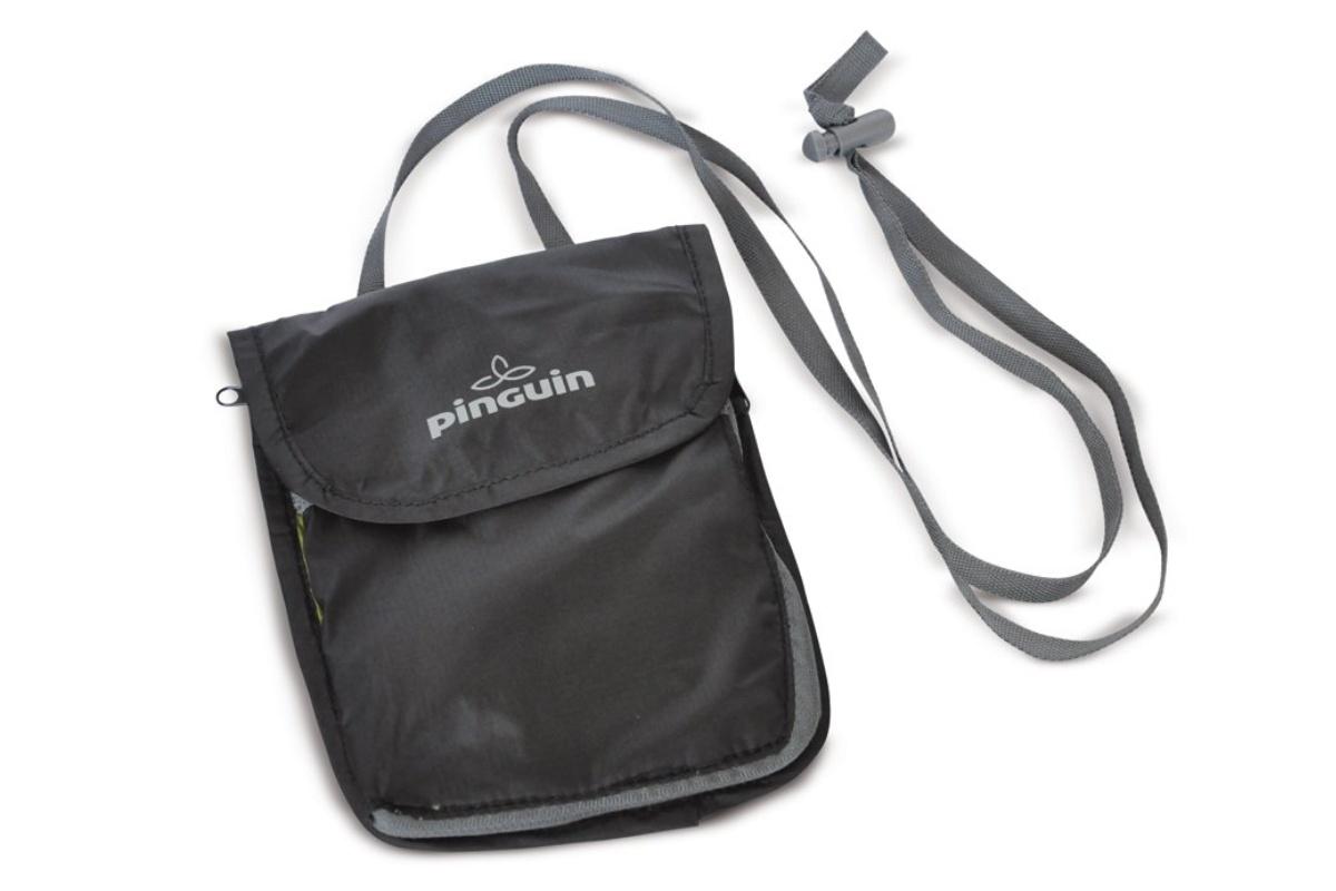 Vrecko na krk PINGUIN Neck security pocket L čierna