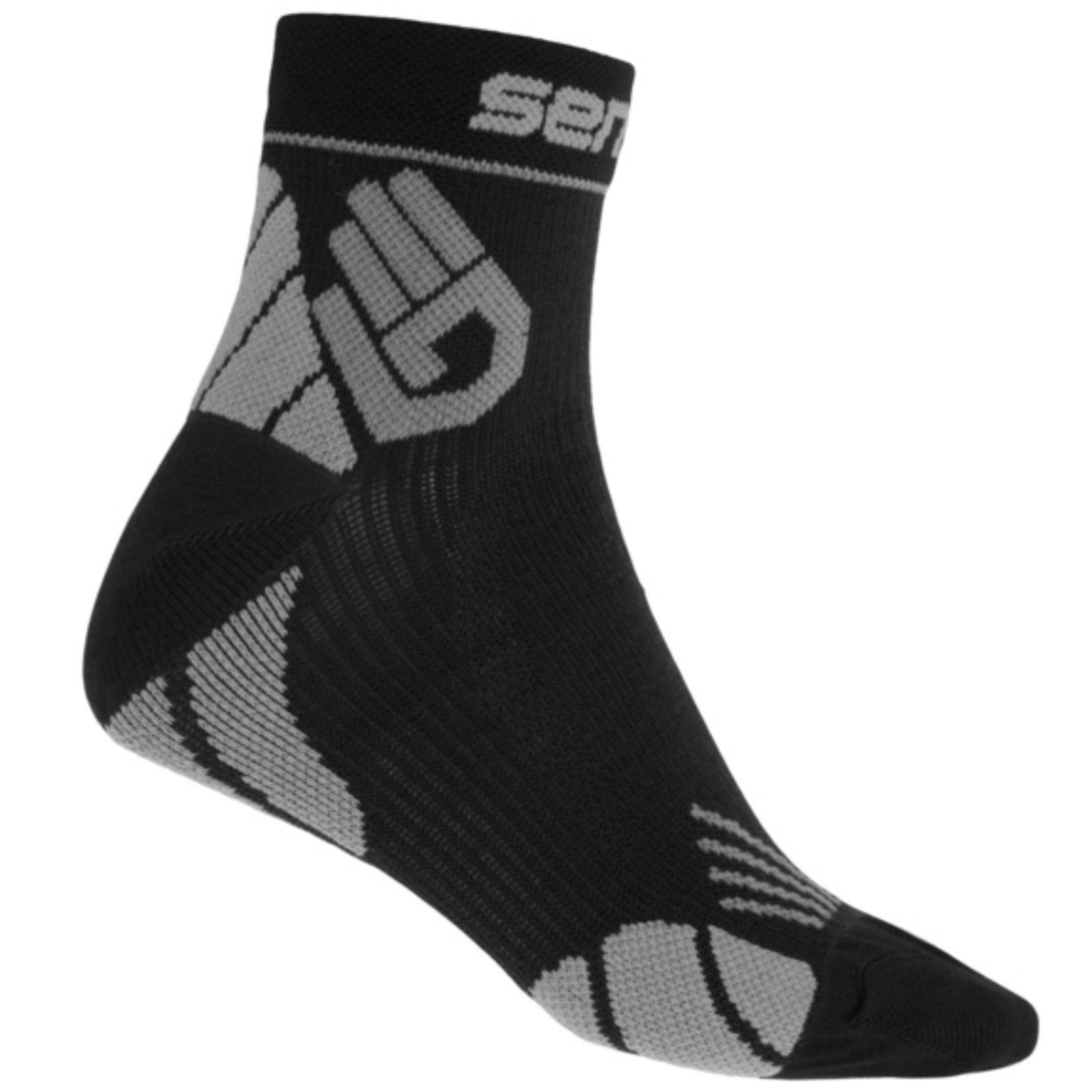 Ponožky SENSOR Marathon čierno-šedé - veľ. 9-11