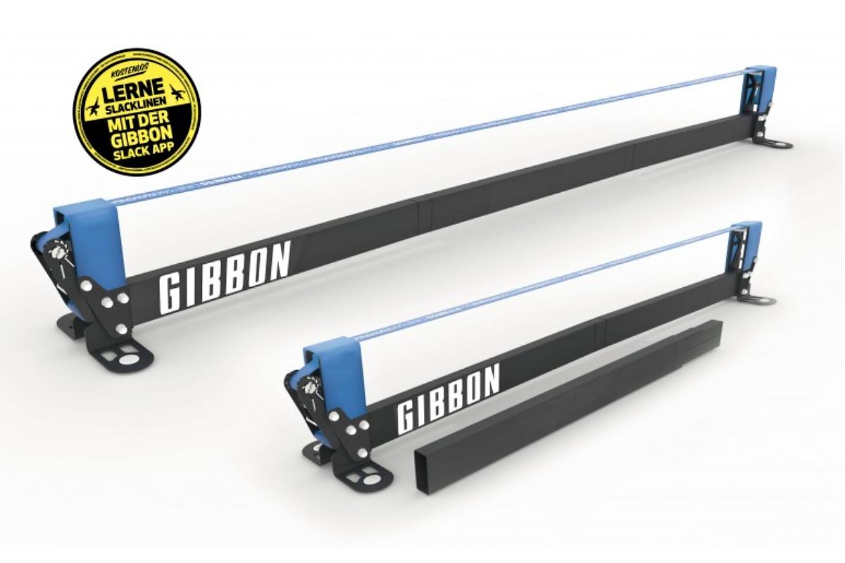 Slackline GIBBON Slackrack Fitness edition - konštrukcia