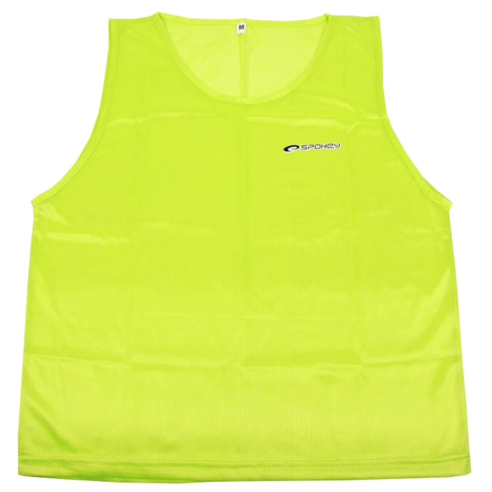 Rozlišovacia vesta SPOKEY Shiny - žltá - XL