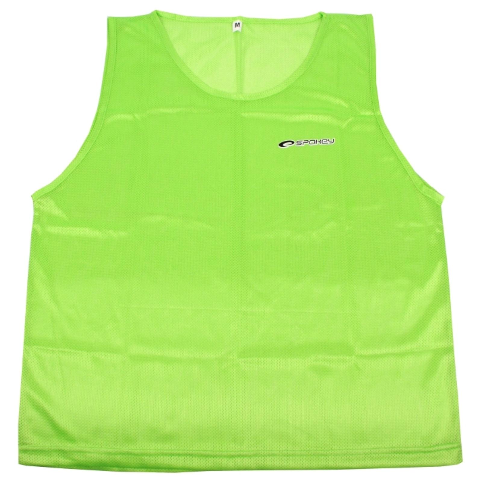 Rozlišovacia vesta SPOKEY Shiny - zelená - XL