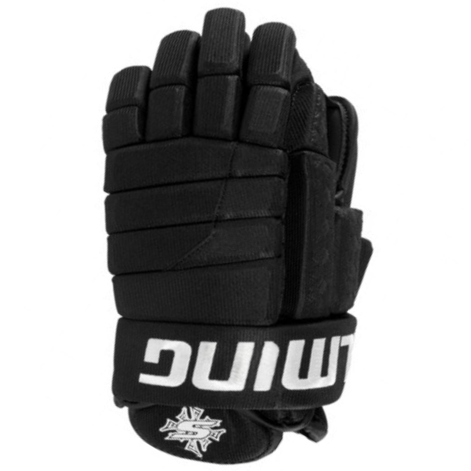 Hokejové rukavice SALMING Glove M11 - čierne 12''