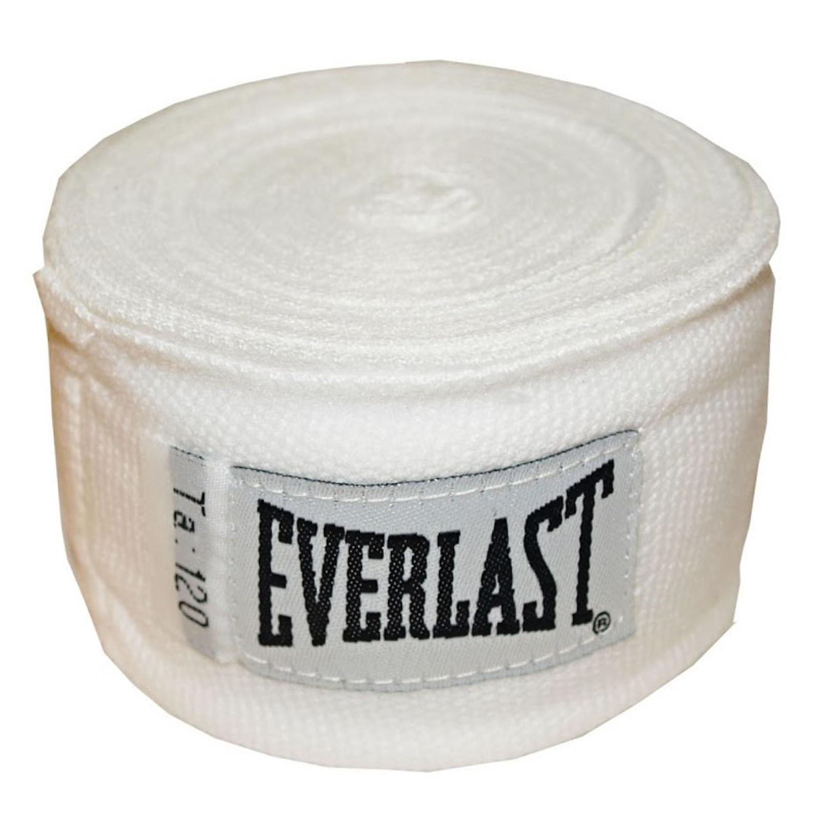 Bandáže EVERLAST 3 m biele - poloelastické