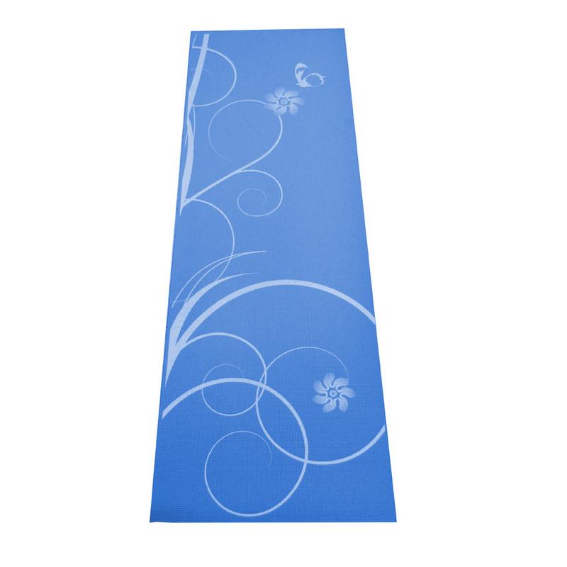 Gymnastická podložka SPARTAN Yoga Matte 0,4 - modrá