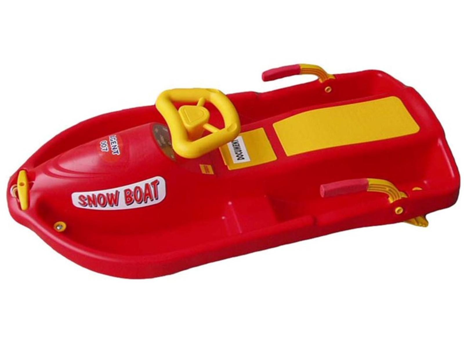 Boby Snow boat detské riaditeľné - červené 3fa7f7df429
