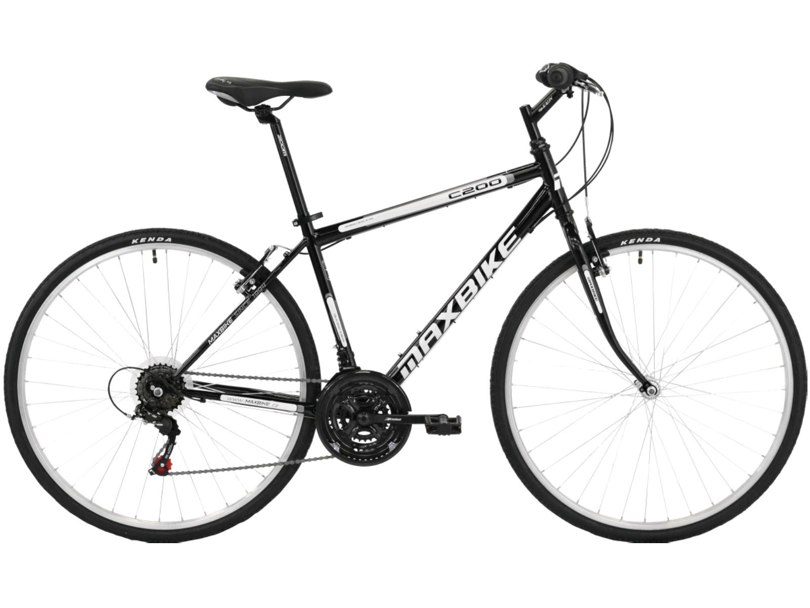 Krosový bicykel MAXBIKE Basic čierne - veľ. rámu 20''