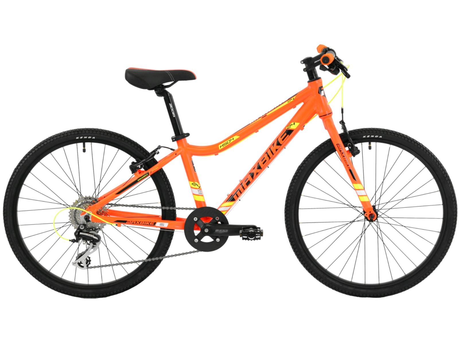 """Detský bicykel MAXBIKE Pirin 24"""" - čierne"""