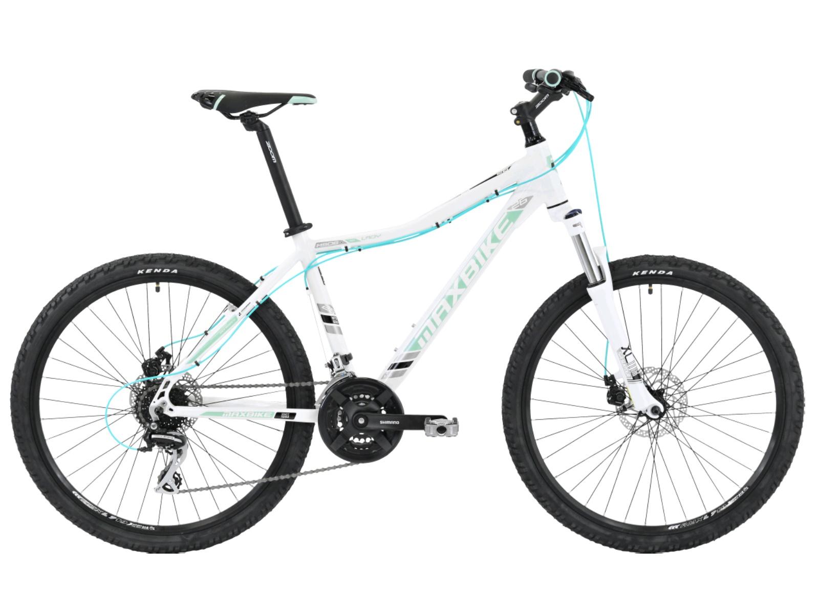 """Horský bicykel MAXBIKE Apo 26 dámsky biele - veľ. rámu 17"""""""