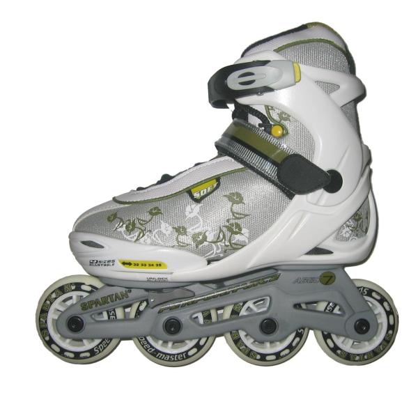 Detské kolieskové korčule SPARTAN Girl - XS (29-32)