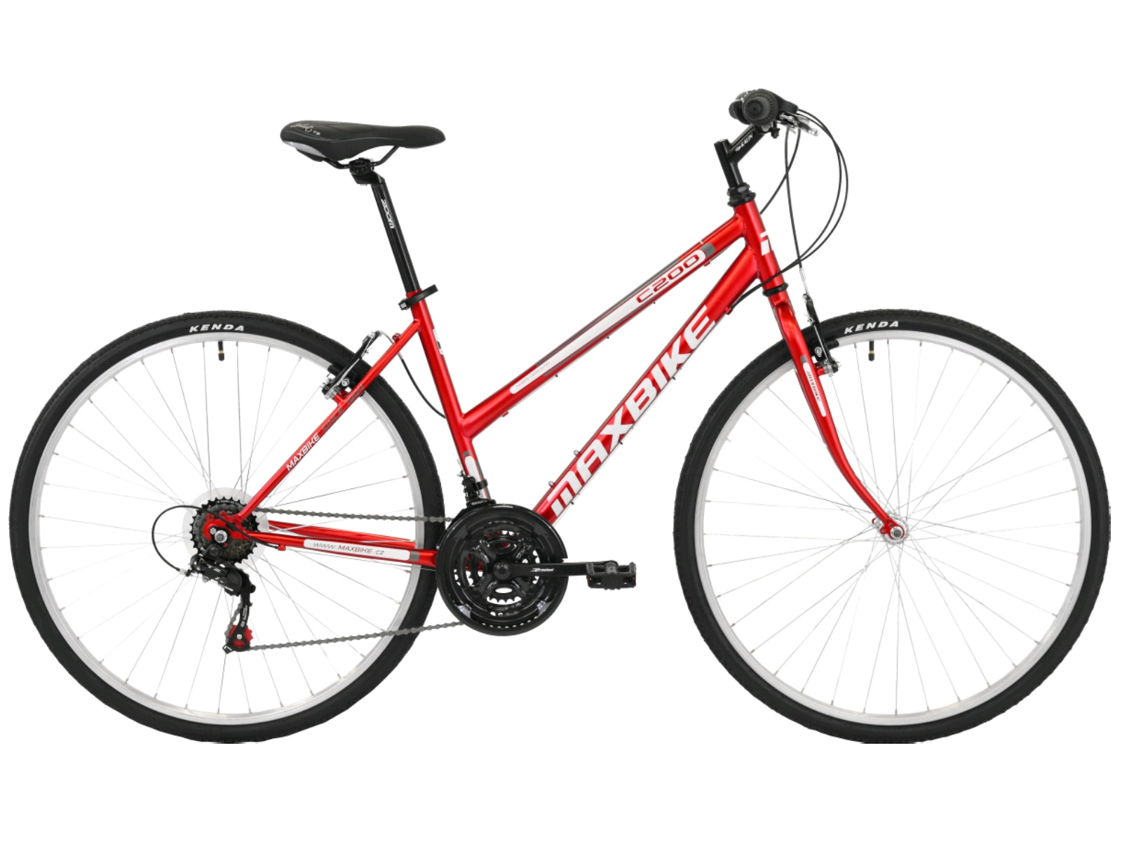 Krosový bicykel MAXBIKE Basic dámsky
