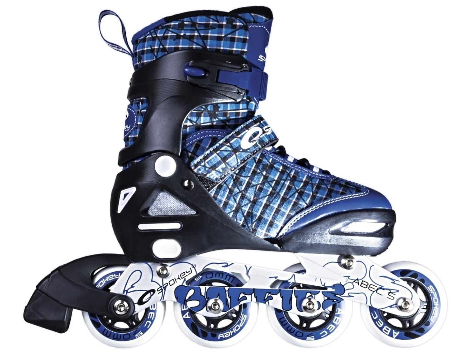 Kolieskové korčule SPOKEY Baffies modré - veľ. 31-34