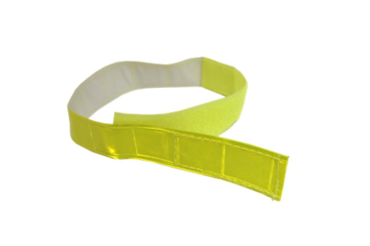Reflexná páska na suchý zip