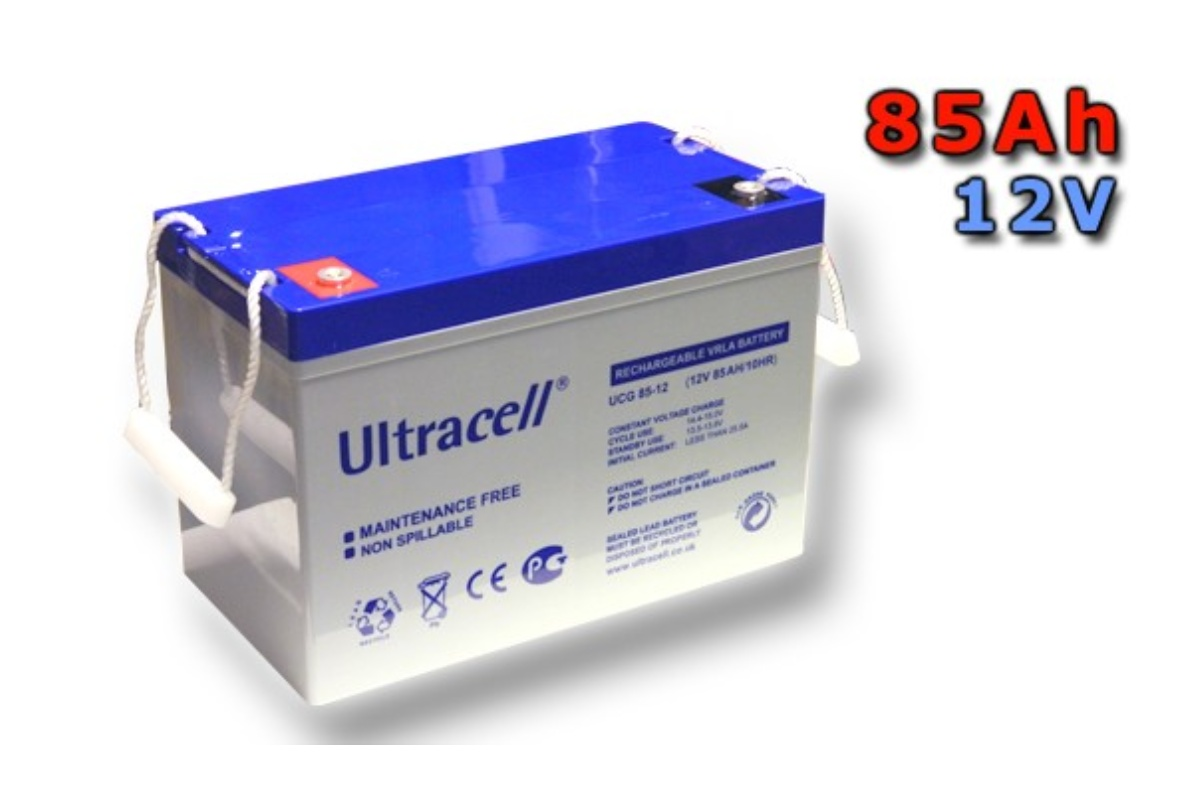 Trakčná gélová batéria ULTRACELL UCG85-12 85Ah