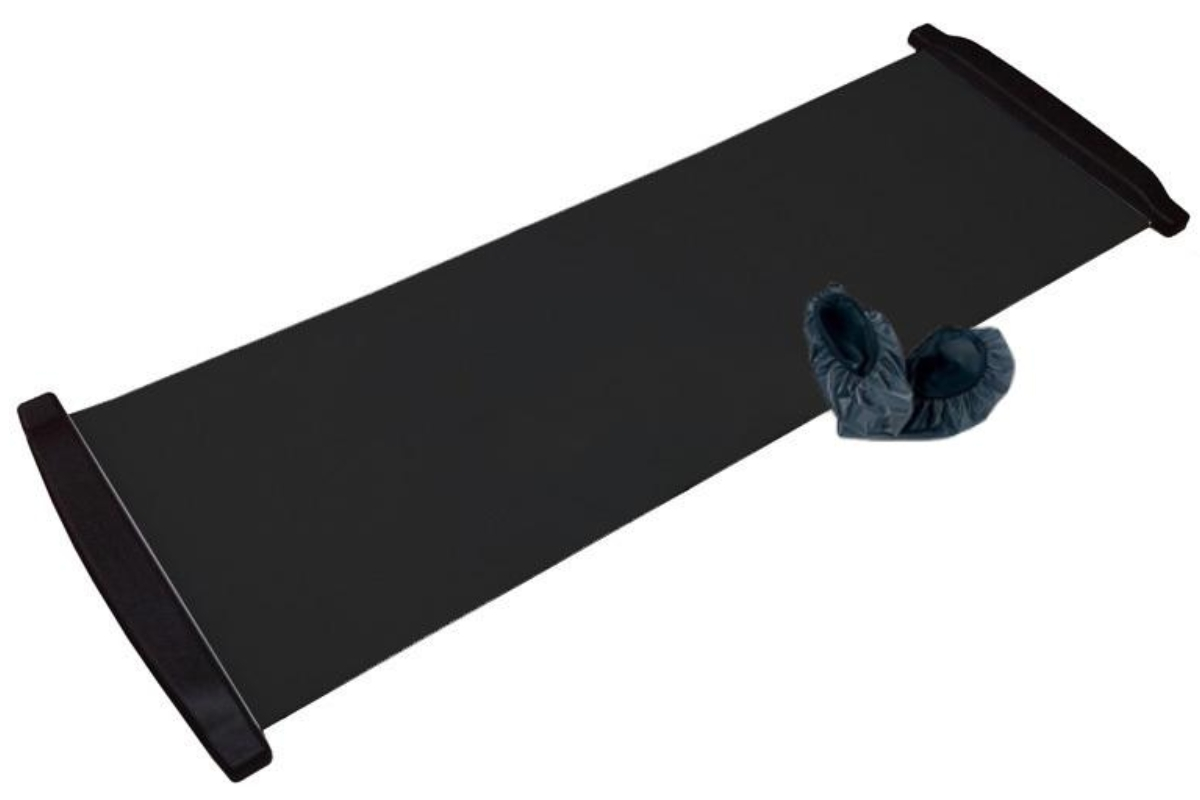 Posilňovacia podložka Slide Board 230x50 cm