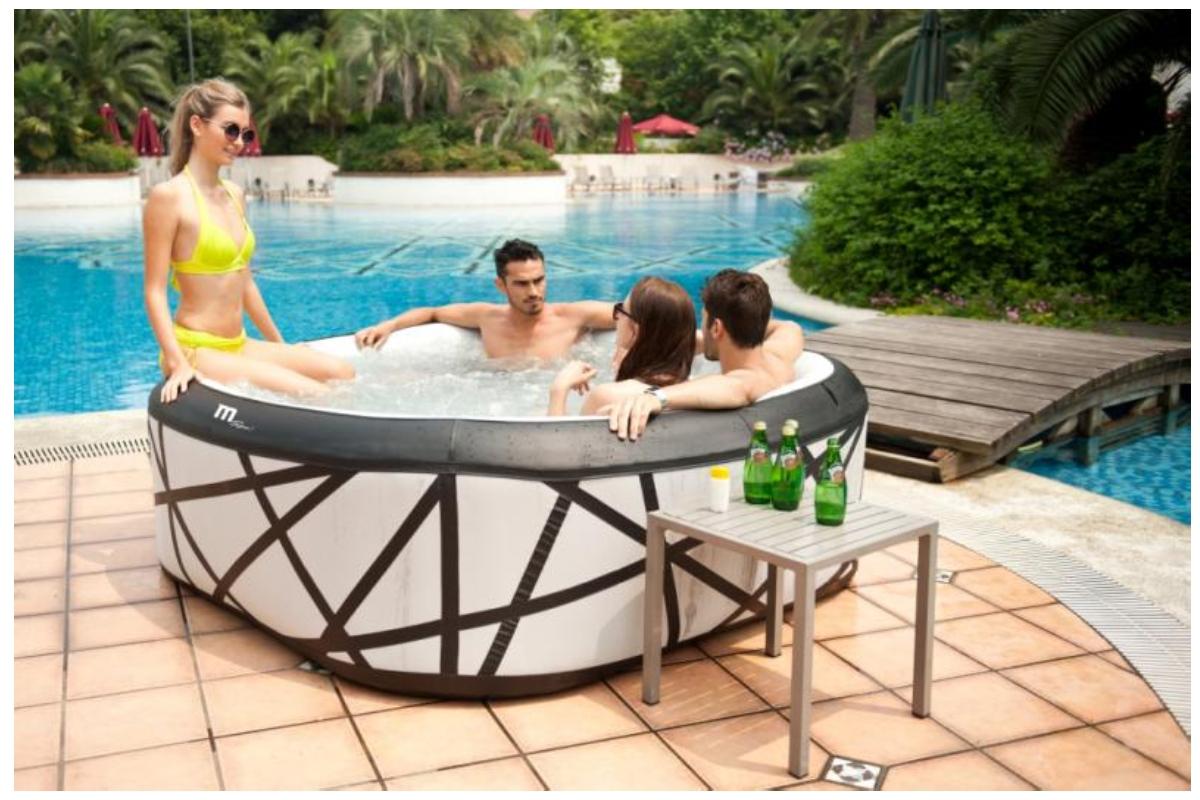 Vírivý bazén HANSCRAFT MSpa Soho M-029S