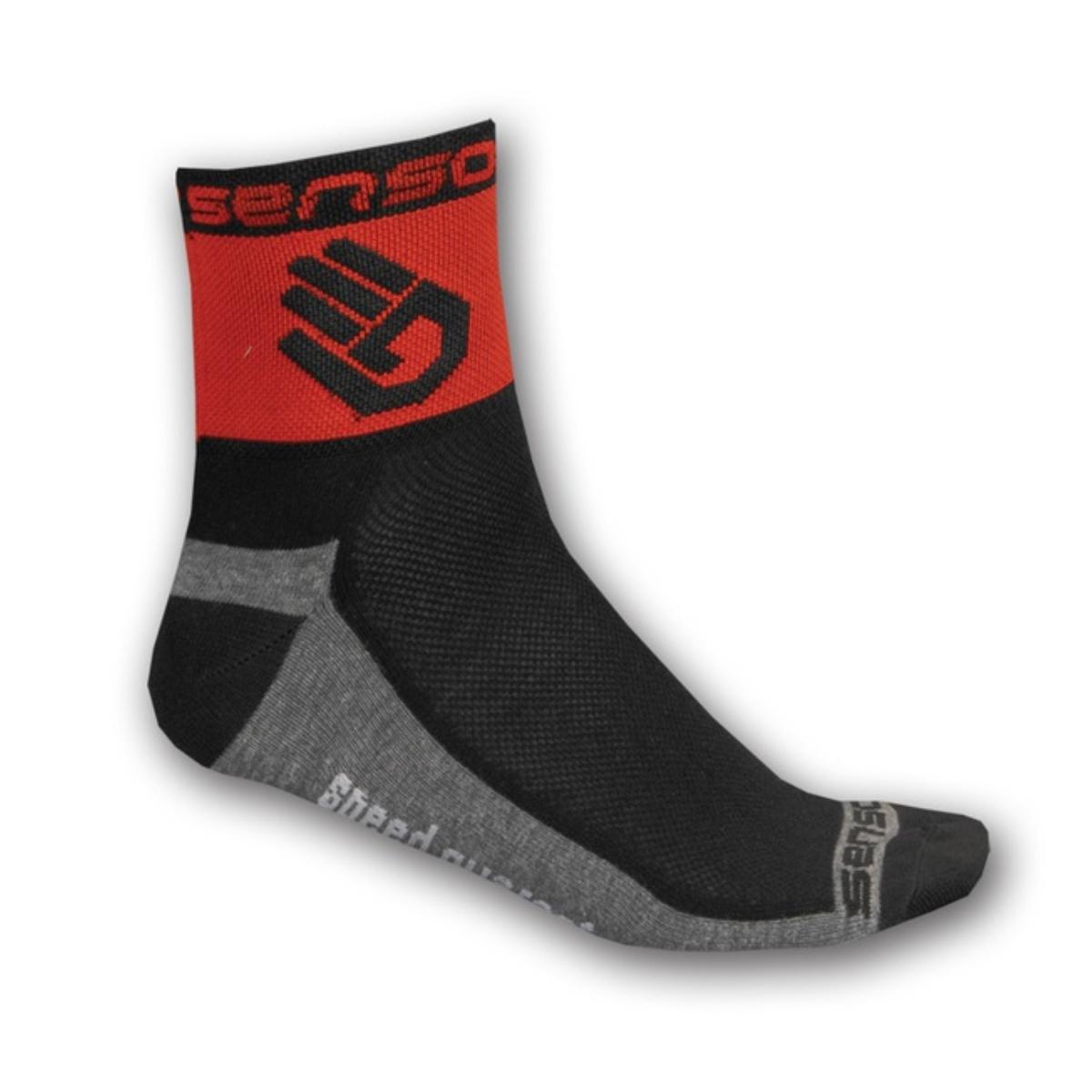 Ponožky SENSOR Race Lite Ruka červené - veľ. 3-5