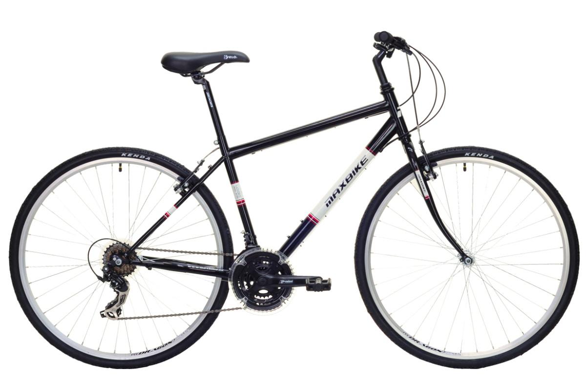 """Krosový bicykel MAXBIKE Basic I veľkosť rámu 16 """"- čierny"""