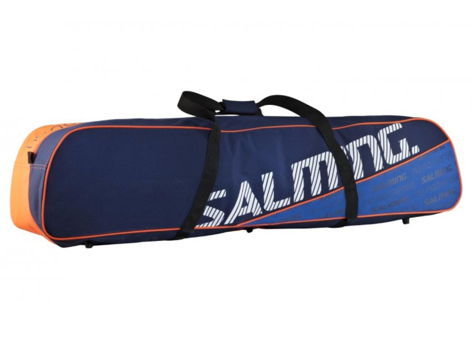 Florbalový vak SALMING Tour Toolbag SR modro-oranžový