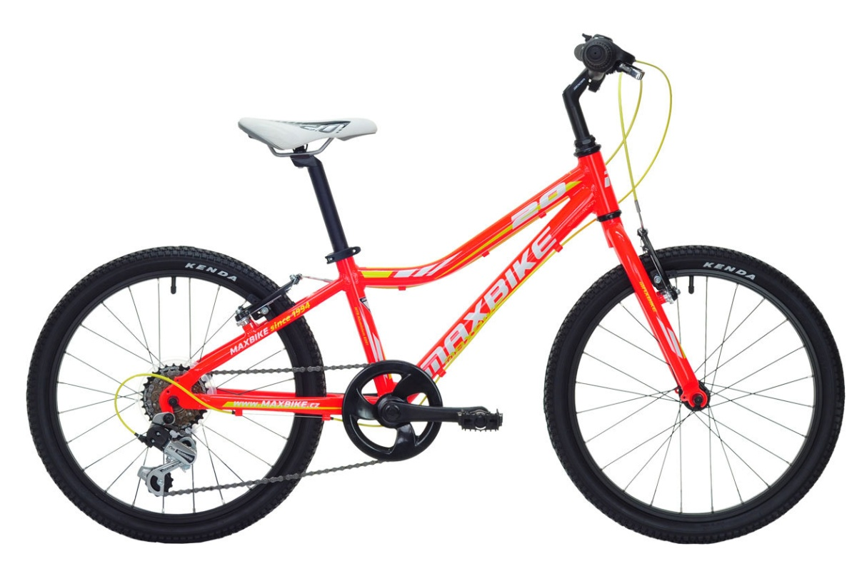 "Detský bicykel MAXBIKE Junior 20"" 2016 - červený"