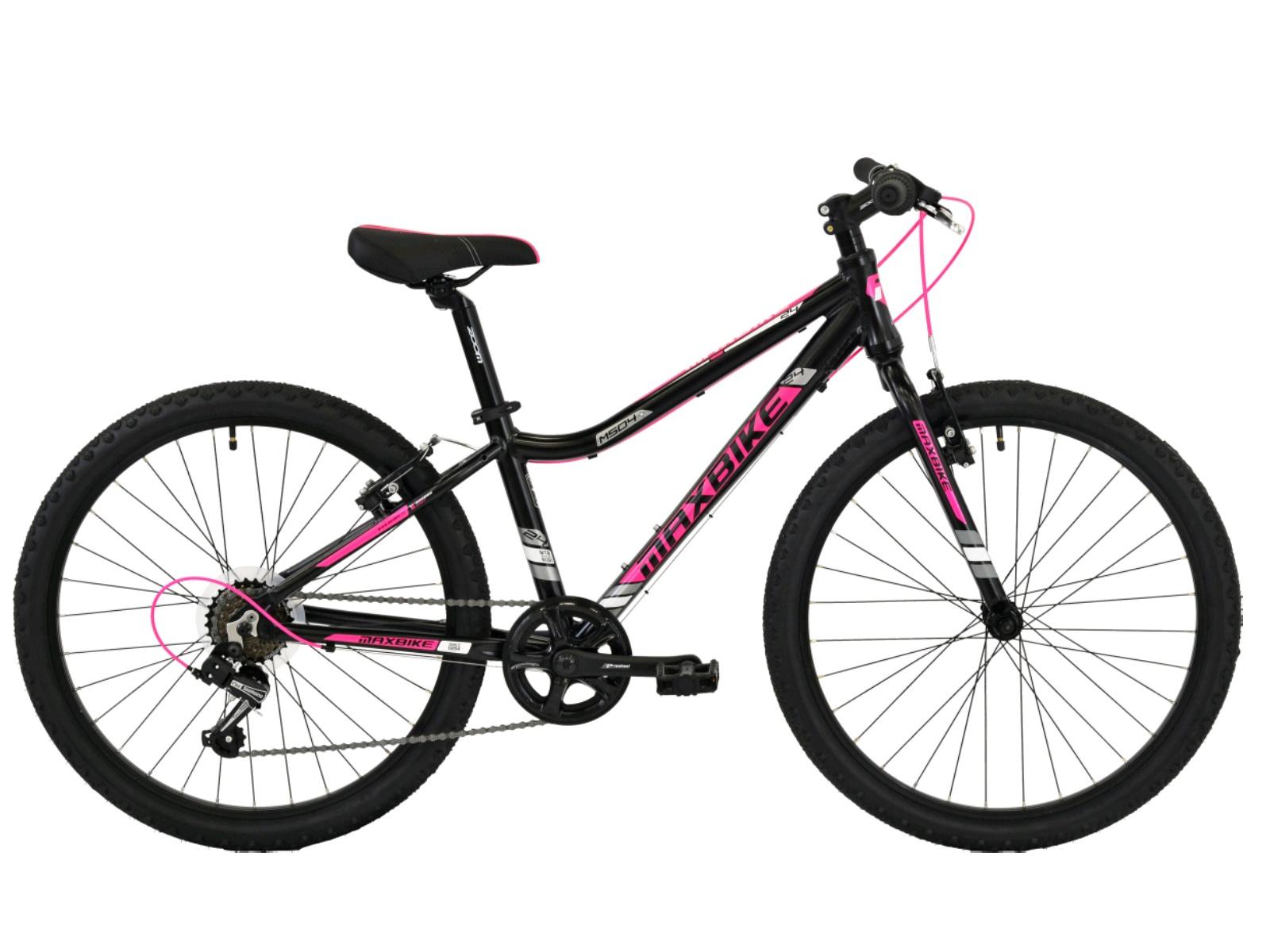 "Detský bicykel MAXBIKE Denali 24"" - čierne"