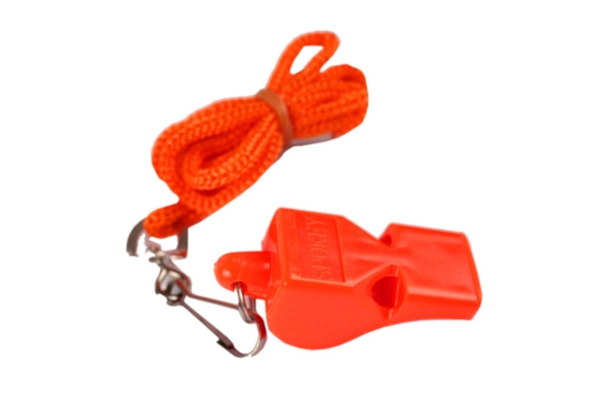 Píšťalka plastová SPOKEY MAYDAY oranžová